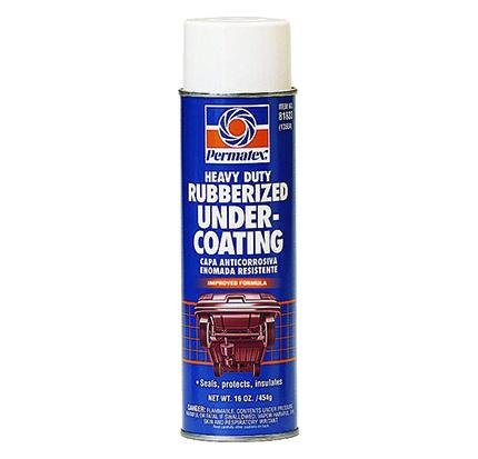 Heavy-Duty Rubberized Spray Undercoating