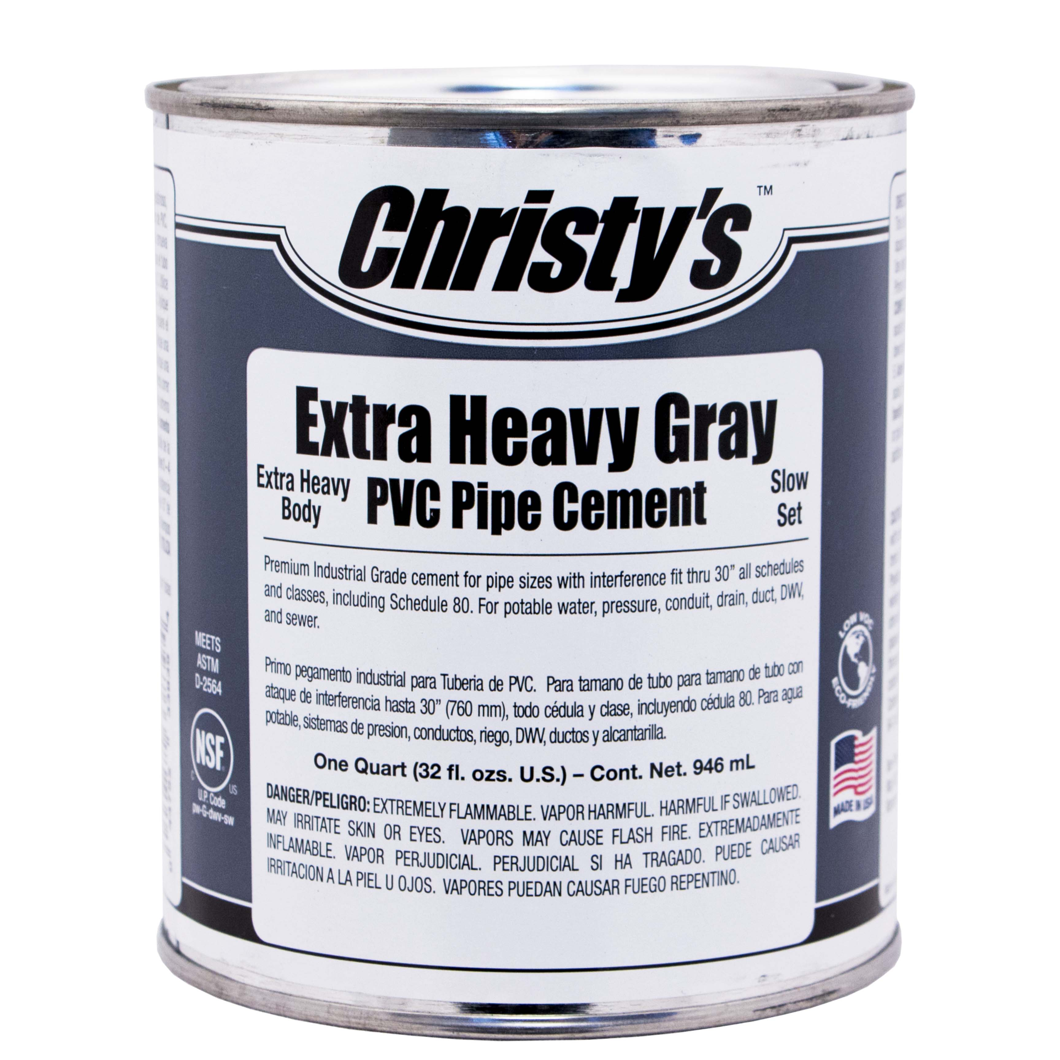 Gray Xtra Heavy Body Cement