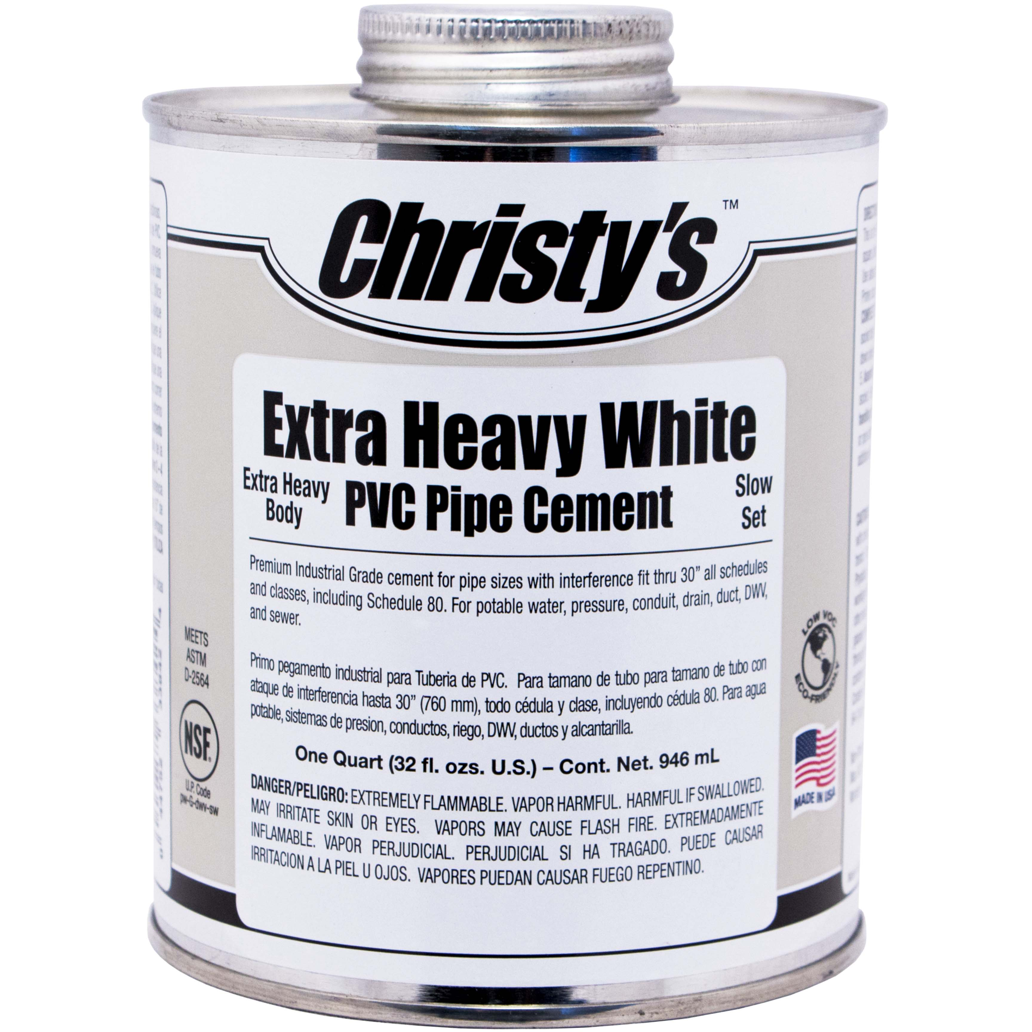 White Xtra Heavy Body Cement