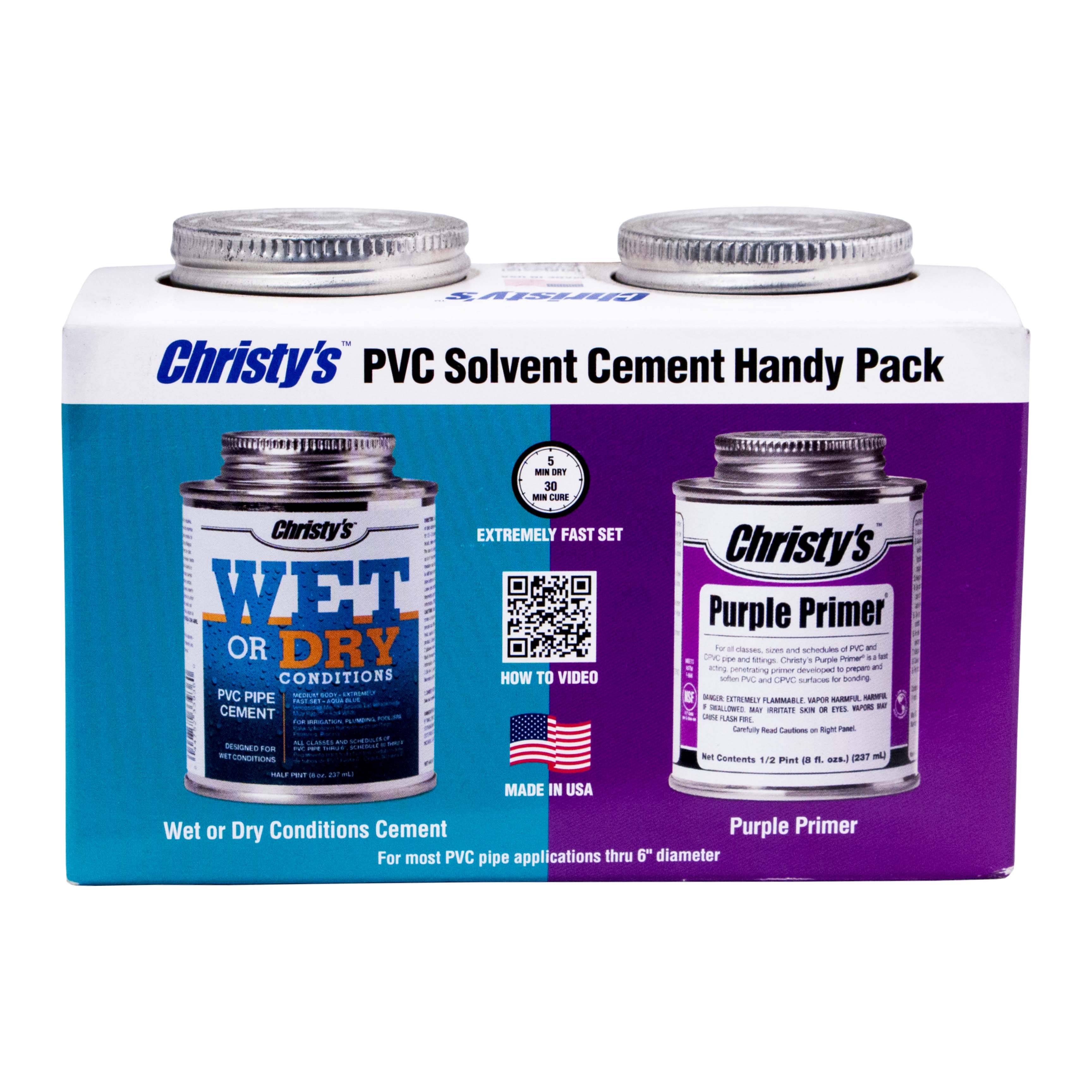 Handy Pack - Wet or Dry & Purple Primer