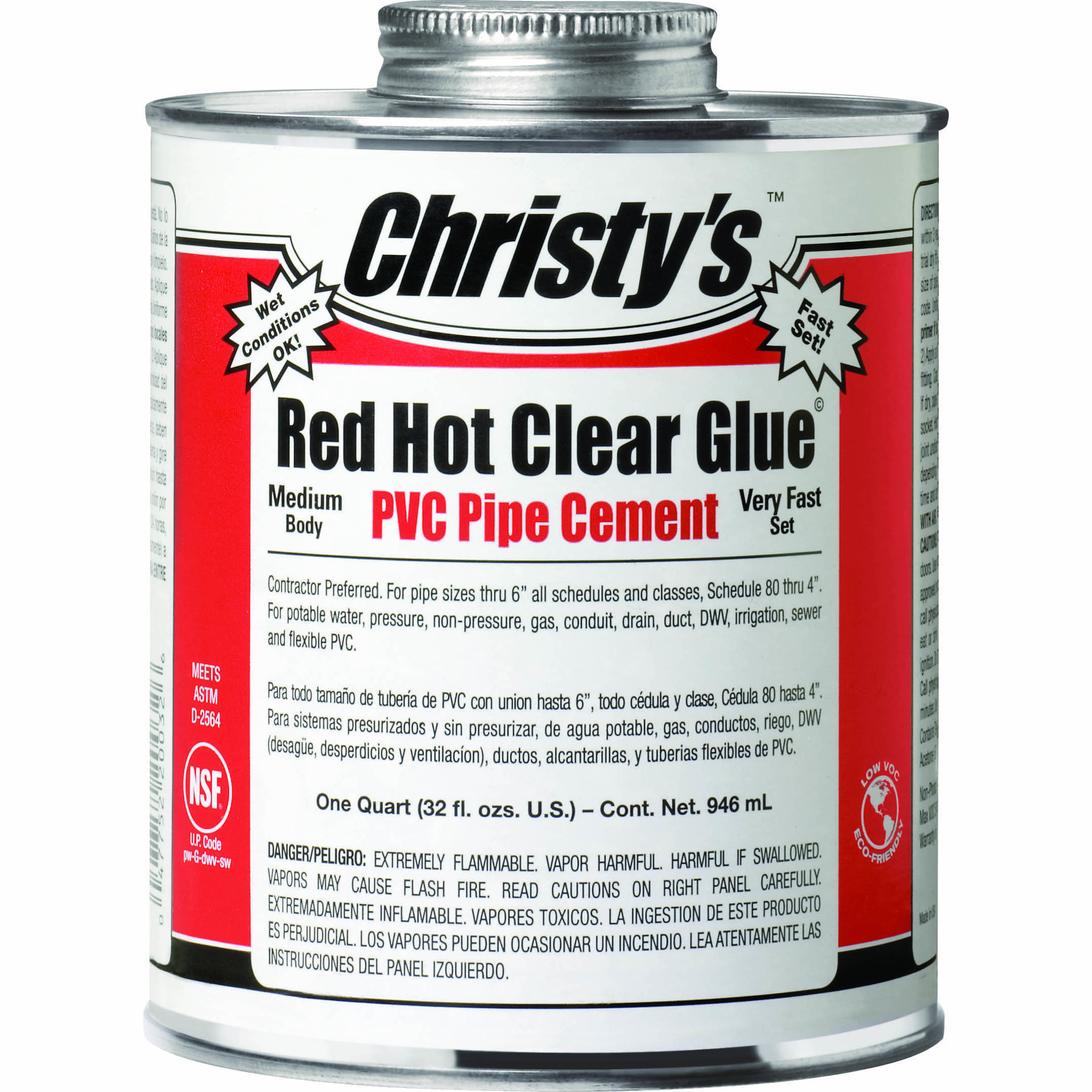 Red Hot Clear Glue