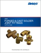 Forged & Cast Fittings Price List