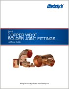 Wrot Solder Joint Fittings Price List