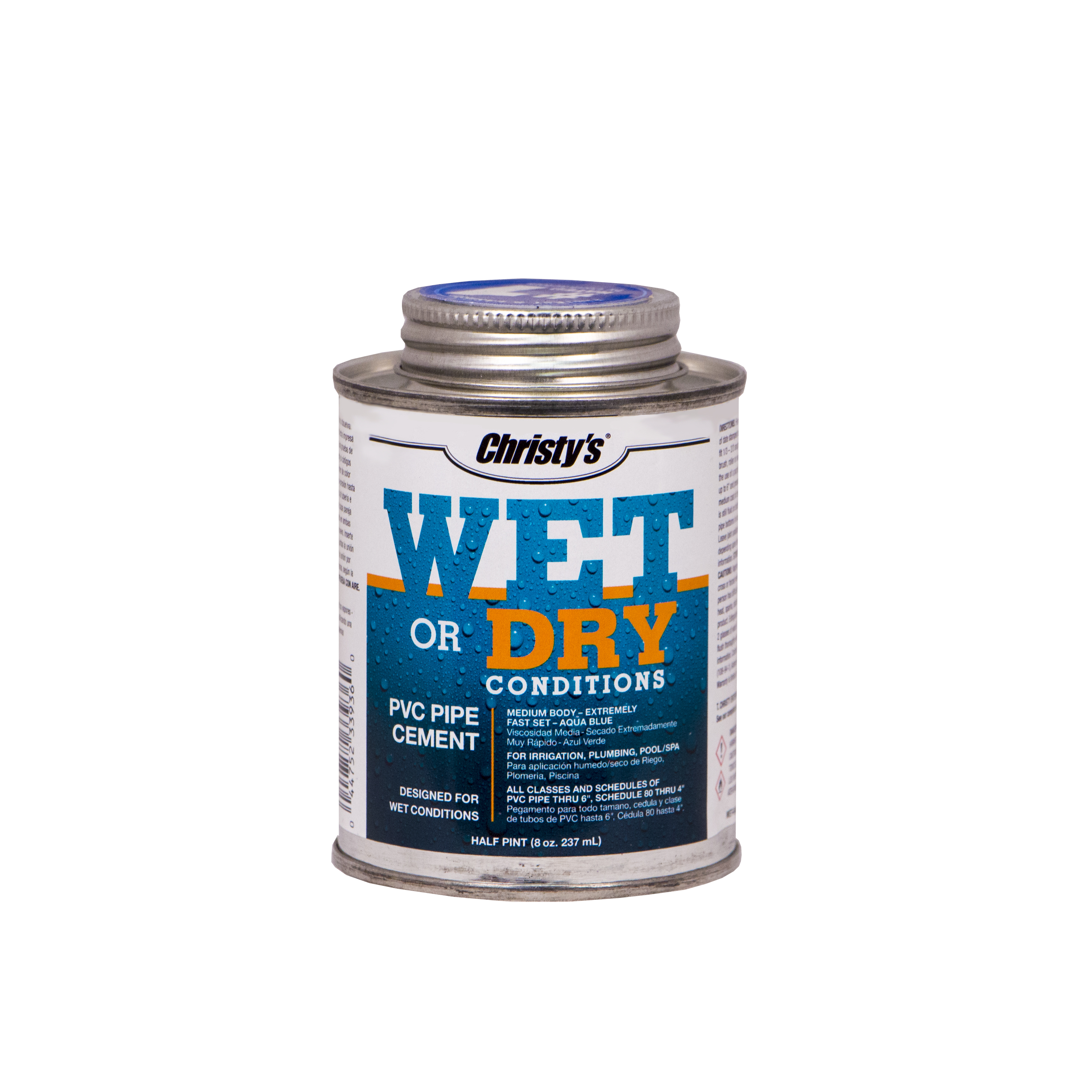 Wet or Dry Conditions PVC Cement – Christy's