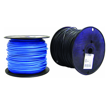 12 Blue Stranded THHN Tracer Wire – Christy's Wiring Tracer on