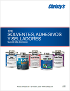 Solvents Price List (Spanish)